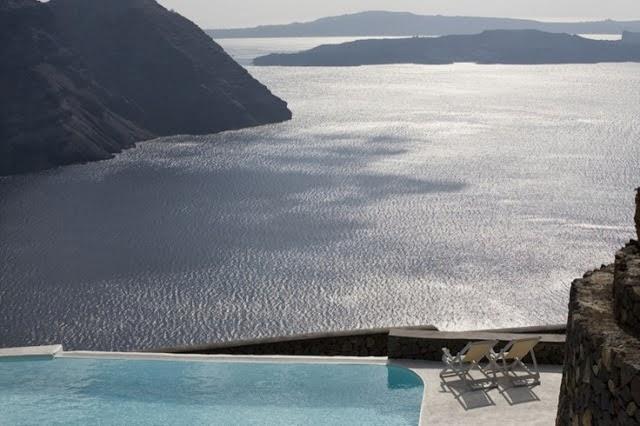 piscina con vistas