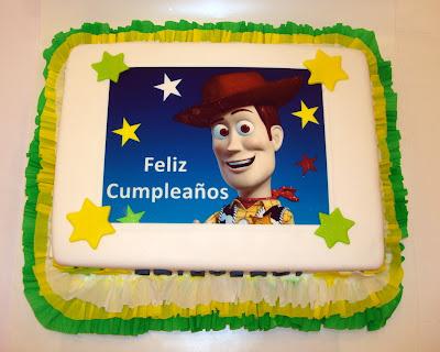 Torta de Cumpleaños Buzz LightYear