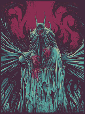 "New York Comic Con 2015 Exclusive Batman ""Blamo!! Ka-Pow!! Tha-Wham!! Fuck!!"" Screen Print by Godmachine & Bottleneck Gallery"