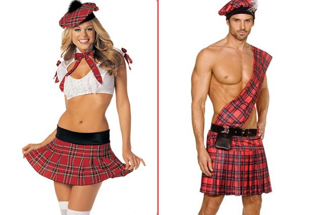 costume ecossais homme et femme