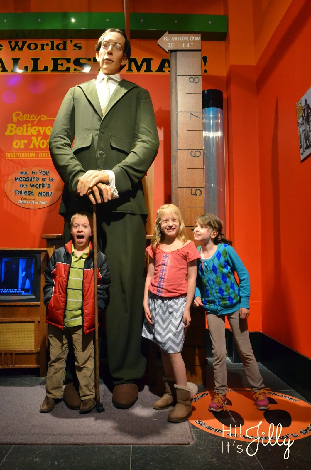 Ripley's Believe It Or Not in Baltimore. Lots of fun for the whole family! #ripleys #baltimore #museum #travel