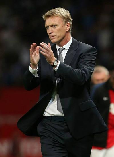 David Moyes Manchester United v Chelsea 2013
