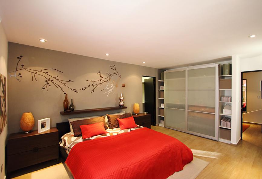 Casas en venta y departamentos casa muestra modelo 211scl for Diseno de interiores recamaras modernas