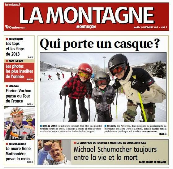 Interview de florian vachon dans le journal la montagne for La montagne journal brive