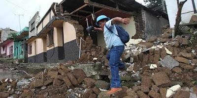 Cuantiosos daños deja terremoto de 6,5 grados en Guatemala