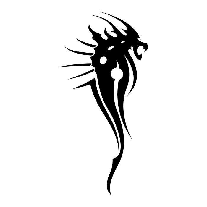 tattoos  dragon tattoo stencils   1