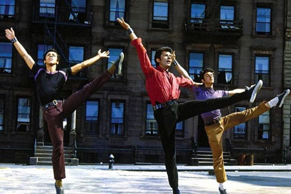 West Side Story, directed by Jerome Robbins and Robert Wise