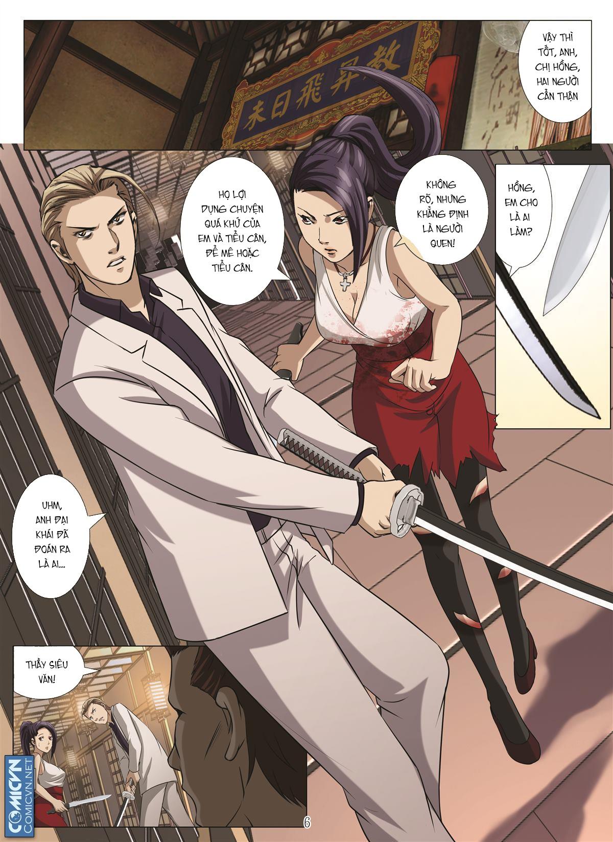 Bloody Girl chap 18.h Trang 6