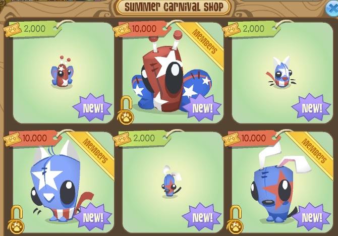 Animal Jam Bouncies: New Freedom Plushies!