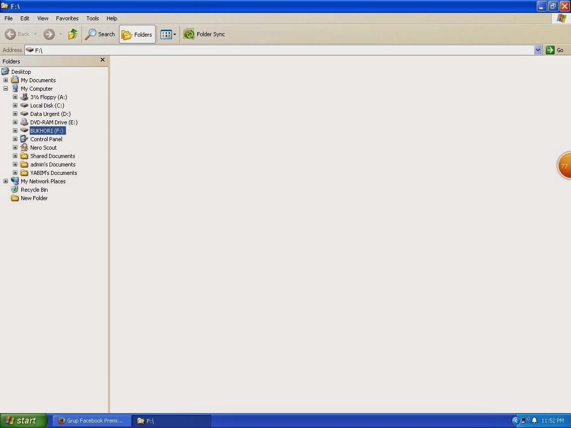 Cara Menampilkan File Dan Folder Yang Terhiden Oleh Virus Di Flashdisc