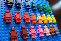 Lego Minifigure Crayons