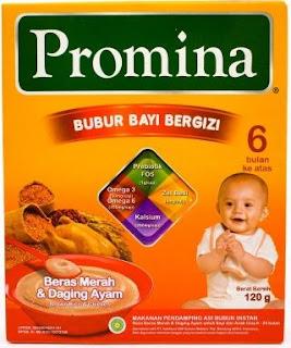 promina bubur bayi