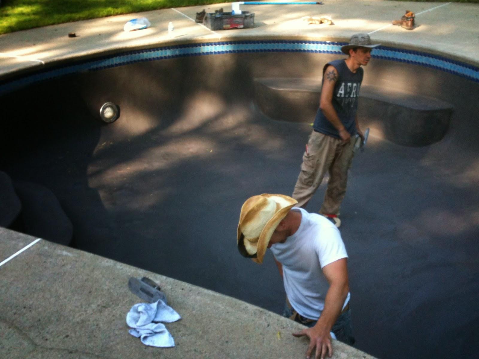 gunite pool resurfacing