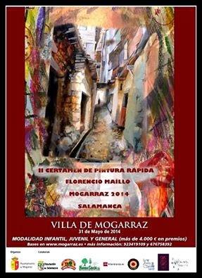 """31/Mayo. II Cértamen de pintura rápida """"Florencio Maillo"""". Mogarraz"""