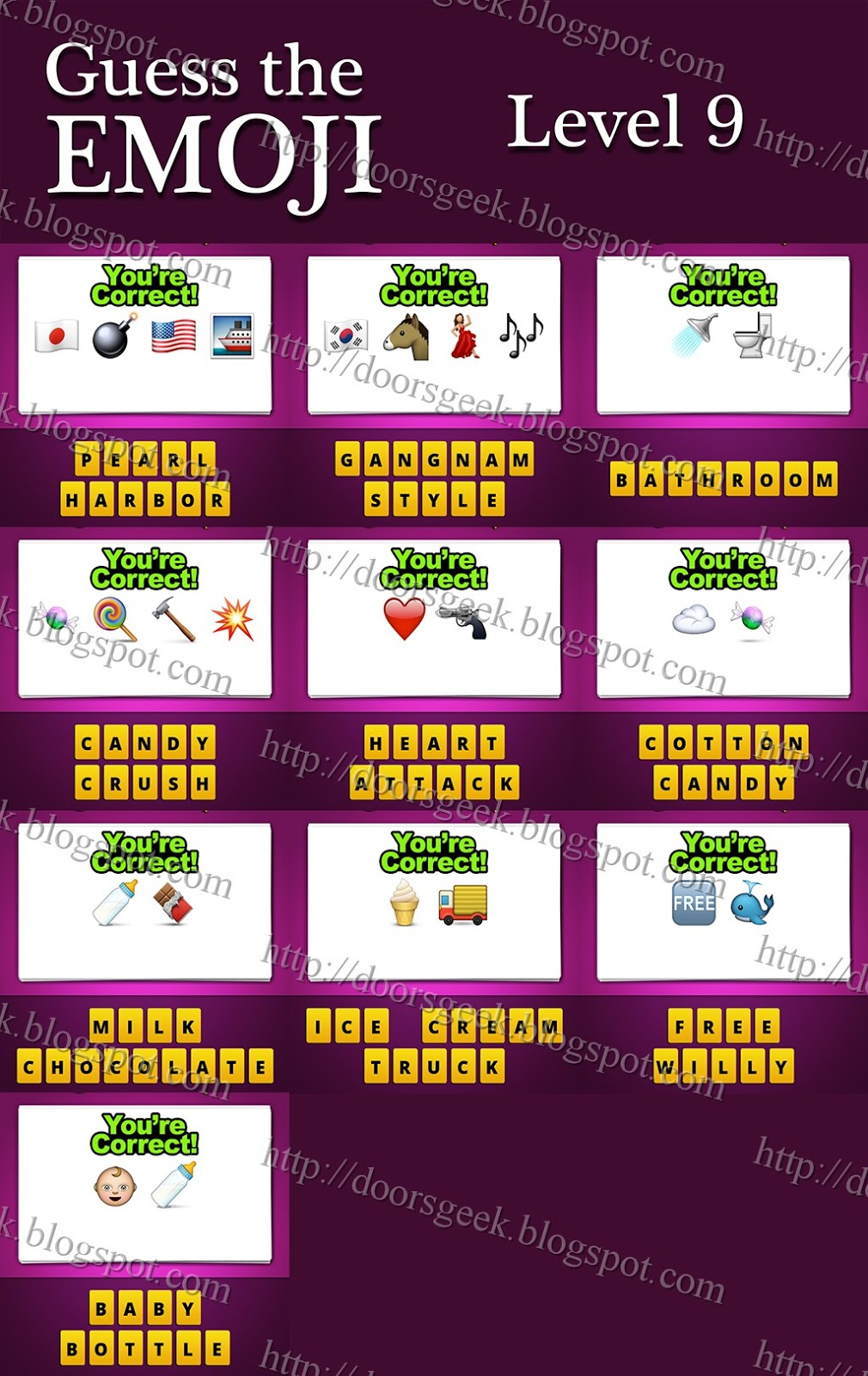 Lollipop Emoji Guess the emoji is a simple