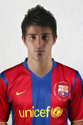 David Villa Cool Hairstyles
