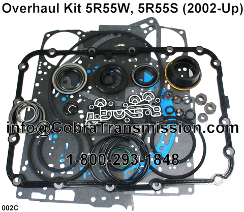 Overhaul Kit R W R S Seals Ford Explorer Transmisson Parts on Ford 5r55s Transmission Manual