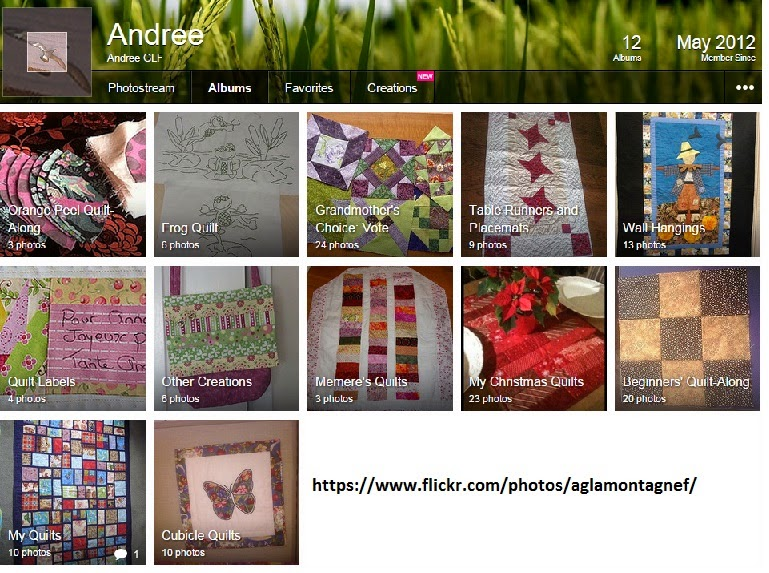 My Flickr Quilting Albums