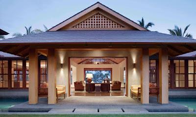 Tropical Classic Hawaiian Cloister House 2