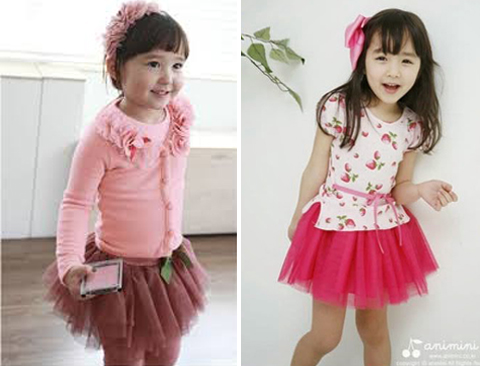foto baju anak import korea