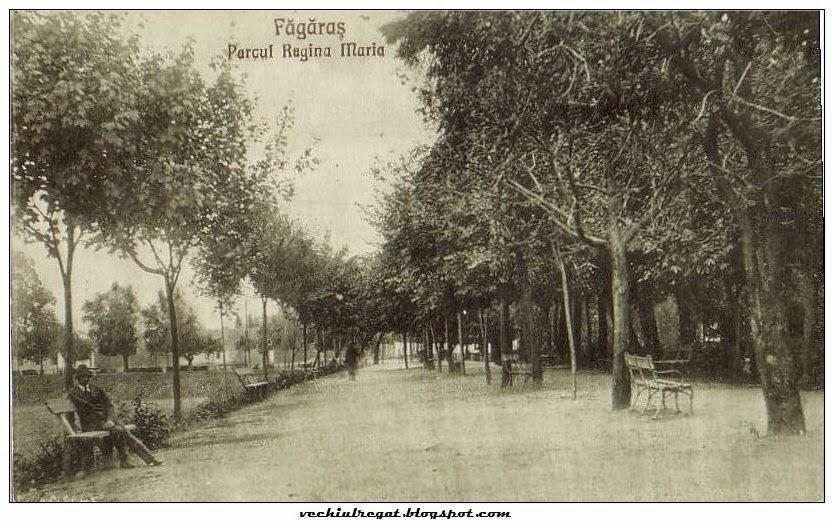 Parcul Regina Maria din vechiul Fagaras