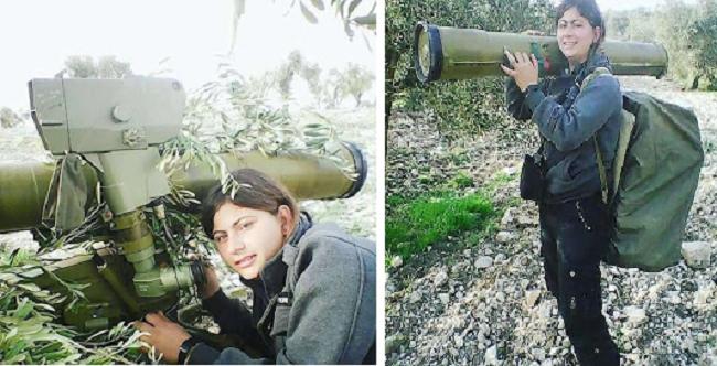 Χάνουν το ένα μετά τ΄ άλλο τα άρματα μάχης τους οι Τούρκοι στην Αφρίν! Η γυναίκα που τα τινάζει στον αέρα! Βίντεο