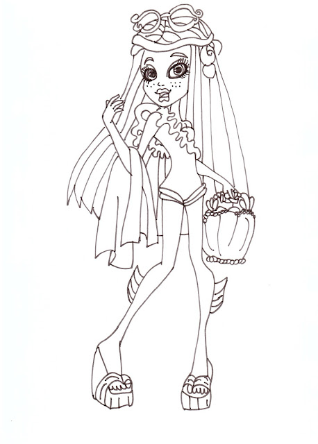 Monster High Free Printable Coloring Pages Collection title=