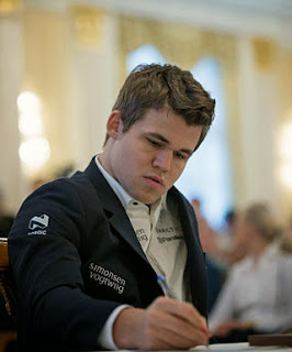 Échecs : Magnus Carlsen au Zurich Chess Challenge - Photo © site officiel