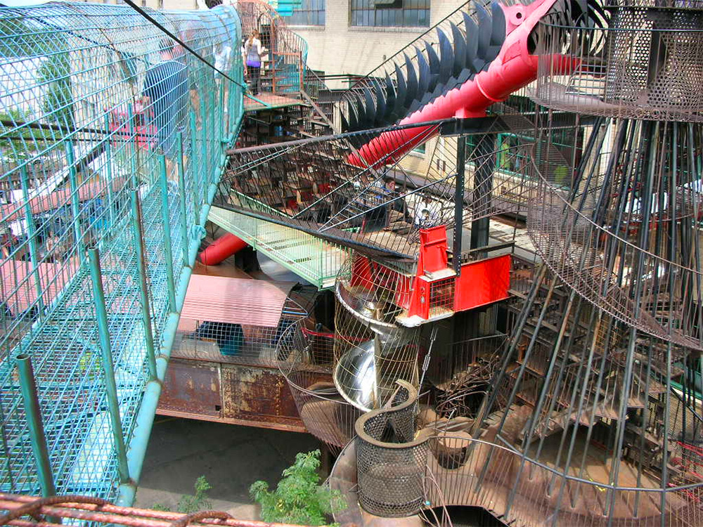 bensozia: City Museum, St. Louis; Now That's a Playground