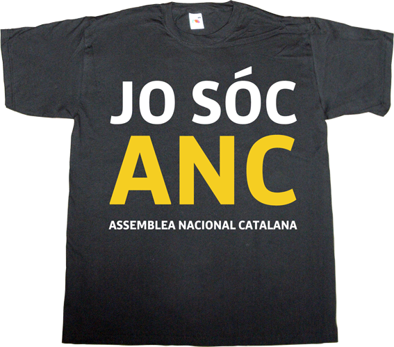 spain is different brand spain catalonia freedom independence freedom anc assemblea nacional catalana t-shirt ephemeral-t-shirts