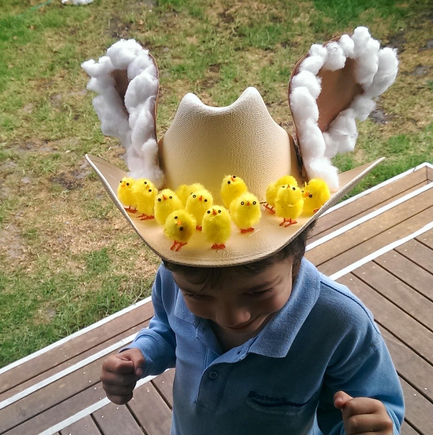Cowboy Easter Bonnet Tuesday April 1 2014