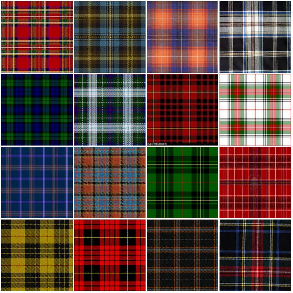 Marylou vintage v tements vintage le tartan qu 39 est ce - Les couleurs des tissus ...