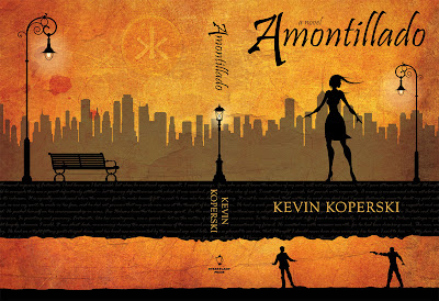 Amontillado by Kevin Koperski - Book Cover