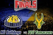 Game 1 : NU Bulldogs vs FEU Tamaraws October 4 2014