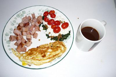 Slow carb diet breakfast