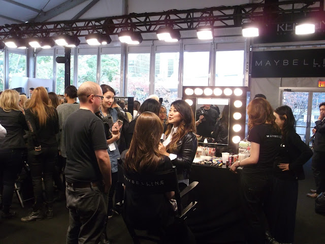 Maybelline backstage Toronto