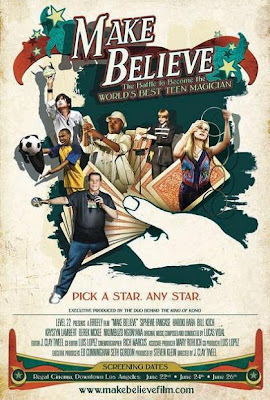 Make Believe, 2011, Clay Tweel, movie, cover