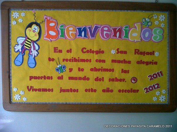 Carteleras escolares decoradas - Imagui