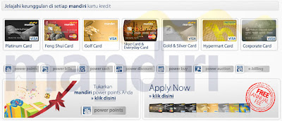 Apapun keinginan Anda, Bank Mandiri Saja, Bank Mandiri, mandiri kta, mandiri kpr, mandiri tabungan, mandiri tabungan rencana, mandiri kartu kredit