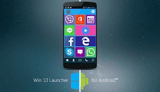 Win 10 Launcher Pro V1.5 Apk Terbaru