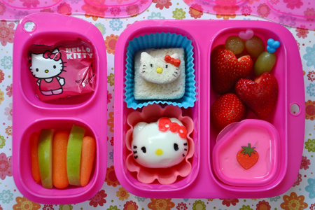 Hello Kitty Preschool Lunch in Goodbyn
