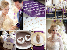 GOLD-CADBURY PURPLE RECEPTION THEME