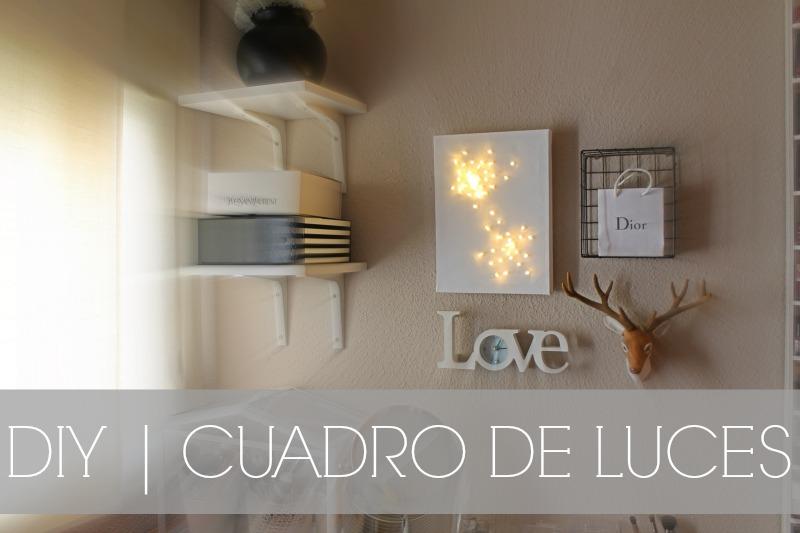 Diy cuadro de luces led moli art beauty blog - Luces led primark ...