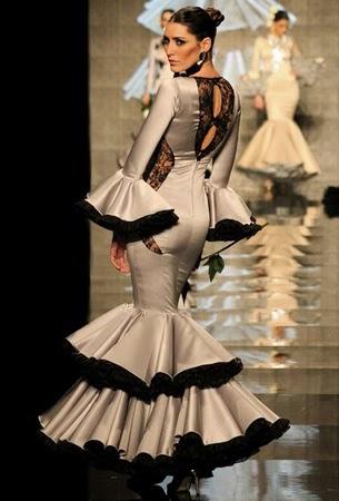 traje de flamenca Cristina Garcia 2015