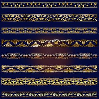 Golden Chains Cliparts