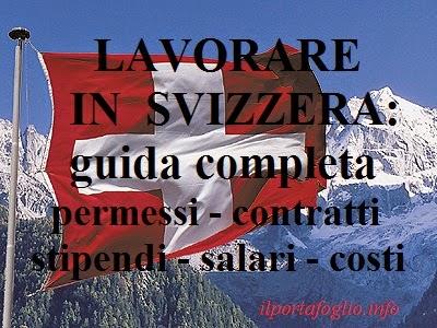 lavoro a domicilio dalla svizzera