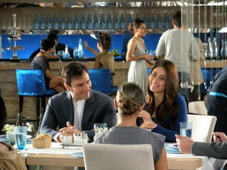 Kareena Kapoor and Saif on their Head & Shoulders on-location ad stills