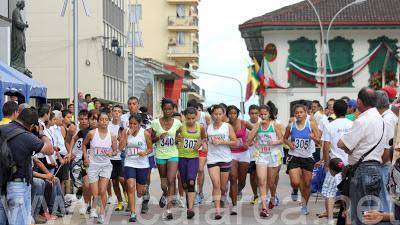 Atletismo en la Semana de la Cultura 2013