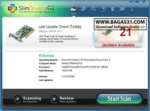 SlimDrivers 2.2 + Username & Password 3