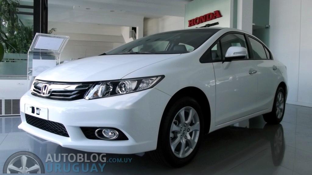 Primera impresión: Honda Civic EXS 1.8 16v M/T : Autoblog Uruguay ...